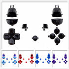 Customized Full Set Buttons L1R1 L2R2 Dpad Fix Parts for PS4 Pro Slim Controller