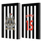 NEWCASTLE UNITED FC NUFC 2017/18 HOME KIT 2 WHITE GREY LEATHER PASSPORT HOLDER