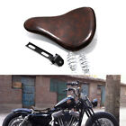 Black Motorcycle Spring Solo Seat For Harley Davidson Heritage Springer Fatboy $69.66 USD on eBay