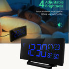 Mpow Alarm Clock 6.5'' Curved-Screen Dual Alarm Humidity Temperature Kid Gifts