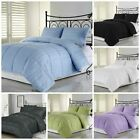 Chezmoi Collection Dobby Woven Stripe Down Alternative Comforter Set 7 Colors image