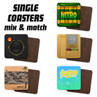 Video Game, Character, Console Inspired Tea/Coffee Single Printed Geeky Coasters
