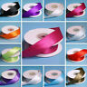 7/8 inch x 10 yards Satin WIRED RIBBON for Wedding FAVORS Crafts Invitations