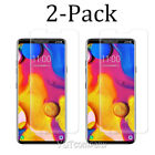 For LG V40 ThinQ Premium Tempered Glass Screen Protector Clear Film (2/4/6 Pack)