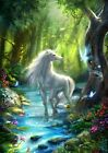 Unicorn Bedroom Pictures Mystical Photo Prints ONLY Wall Hanging A4 - 17 types