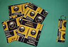 New party COASTERS SET of 4 and/or KEYCHAIN key ring BUFFALO SABRES Hockey NHL $4.75 USD on eBay