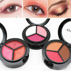 3 Colors/Box Eyeshadow Palette Matte Highlighter Eye Shadow Powder Beauty Tool