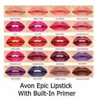 Avon mark Epic Lipstick With Built-In Primer  New & Boxed Lots of Lovely Shades