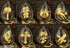 1pcs New 999 24k Yellow Gold & Crystal Pendant Only