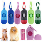 Dispenser For Pet Dog Cat Poop Scoop Waste Bags Roll Holder with Bags Easy Use