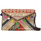 Pouch Indian Crochet Bags Embroidered Fabric Cotton Bags Jaipuri Purses Trendy