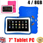 """7"""" inch Kids Android 4.4 Tablet PC Quad Core WiFi Camera For Child Children US"""