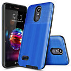 For LG K30/Premier Pro LTE/Harmony 2 Phone Case PC Cover +Glass Screen Protector