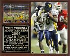 West Virginia Mountaineers 2006 Sugar Bowl Champions Photo Plaque