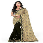 Embroidery Sari Indian Ethnic Wedding Party wear Pakistani Designer Fancy BL