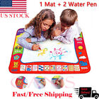 US Kids Water Writing Painting Drawing Mat Board Magic Pen Doodle Toy Xmas Gift