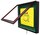GOLF FLAG DISPLAY CASE - UNIQUE ITEM - FREE SHIPPING!