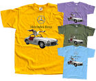 Mercedes 300 SL Gullwing, car poster 1954, T-Shirt (WHITE) All sizes S-5XL  image