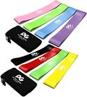 Exercise Elastic Resistance Loop Bands Set of 4 - Home Gym Fitness Yoga Stretch