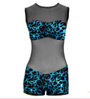 IN STOCK Sabre Swirl Contemporary Modern Unitard Dance Costume Child Large 3A