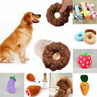 Pets Dog Cat Squeaker Squeaky Toy Quack Sound Funny Plush Teeth Clean Chew Toys