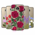 HEAD CASE DESIGNS ROSES AND WILDFLOWERS SOFT GEL CASE FOR MOTOROLA PHONES