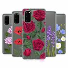 HEAD CASE DESIGNS ROSES AND WILDFLOWERS SOFT GEL CASE FOR SAMSUNG PHONES 1