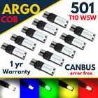 T10 Car Bulbs Led Error Free Canbus Cob Xenon Smd White W5w 501 Side Light Bulb