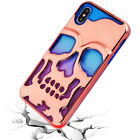 for Apple iPhone XS Max 6.5* Lucid Skullcap Armor See-Thru Case Cover PryTool