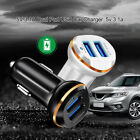 Universal Auto Dual USB Car Charger Adapter Fast Charging For IPhone Samsung