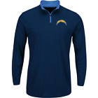 San Diego Chargers NFL Quarter-Zip Shirt Men's size Large or X-Large NWT $44.99 USD on eBay