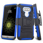 Heavy HybridRugged Rubber Shockproof Hard Armor Case Cover for LG G5 H850 Vs987