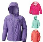 NWT $45 COLUMBIA Girls Slippery Slope Rain Jacket SELECT SIZE & COLOR