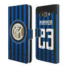 INTER MILAN 2018/19 PLAYERS HOME KIT GROUP 2 LEATHER BOOK CASE FOR SAMSUNG 2
