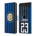 INTER MILAN 2018/19 PLAYERS HOME KIT GROUP 2 LEATHER BOOK CASE FOR SONY PHONES 1
