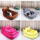 Pet Dog Cat Bed Cartoon Mat House Kennel Doggy Puppy Stack Pad Cushion Basket