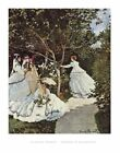 Print Claude Monet Women in the Garden 60 x 80cm