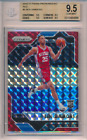 2016-17 Panini Prizm Mosaic Red Ben Simmons Rookie RC #6 BGS 9.5 76ers