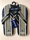 Forever Collectibles NFL Dallas Cowboys Unisex Flip Flop Sandal on eBay
