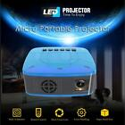 Mini LCD Projector Proyector 1920x1080 Portable Beamer Home Theater Cinema EU/US