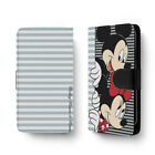 Cute Cartoon Mickey Minnie Mouse Universal Leather Flip Wallet Phone Case Cover