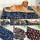 USA Large Warm Dog Cat Pet Mat Bed Pad Soft Heating Rug Thermal Washable Blanket