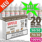 20mg Nikotinsalz Shot ⭐ Salt Shot, Nikotin Shots Salz, Nic Salt ⭐ VG/PG wählbar⭐ <br/> ⭐ Pharmaqualität ⭐ Made in Germany ⭐ BLITZ-Versand ⭐