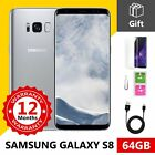 SAMSUNG GALAXY S8 64GB Android Mobile Phone Unlocked GSM 4G LTE Grade A++
