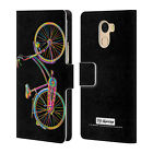 Official P.d. Moreno Assorted Design Leather Book Case For Wileyfox & Essential