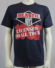 Authentic THE BEASTIE BOYS Logo Licensed To Ill Tour T-SHIRT S M L XL 2XL NEW image