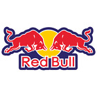 Red Bull Logo Decal Sticker 3m Usa Made Truck Helmet Vehicle Window Wall Car