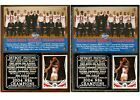 Detroit Pistons 2004 NBA Champions Photo Card Plaque