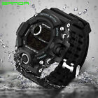 SANDA Mens Military Outdoor Sports Watches Fashion Led Digital Chronograph 326 image