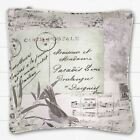 Catherine Lansfield Vintage Postcard Filled Cushion Natural 45 x 45 cm